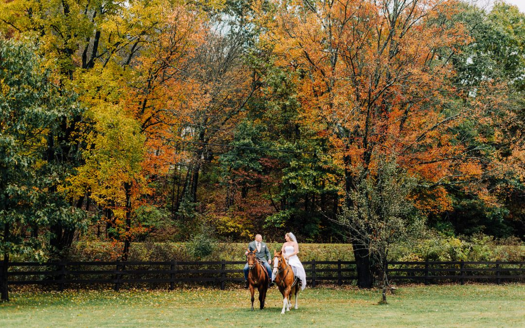 Nikki & Scott || Cowboy Fall Wedding, Poughkeepsie, NY