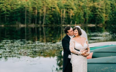 Mary & Robert || Summer Camp Wedding, Lake George, NY